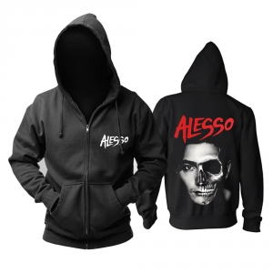 Collectibles Hoodie Dj Alesso Skull Face Pullover