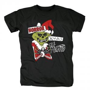 Merch T-Shirt Misfits Horror Xmas