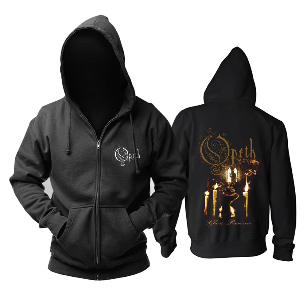 Merch Hoodie Opeth Ghost Reveries Metal Music Pullover