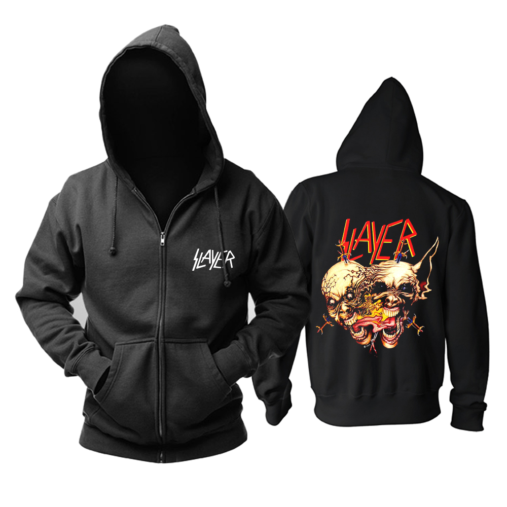 Collectibles Slayer Band Jacket Hoodie Thrash Pullover
