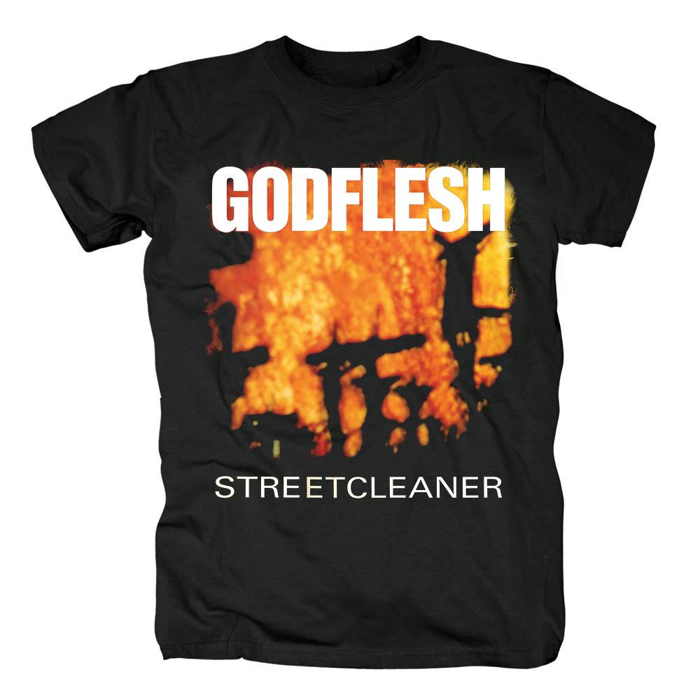 Merchandise T-Shirt Godflesh Streetcleaner Black