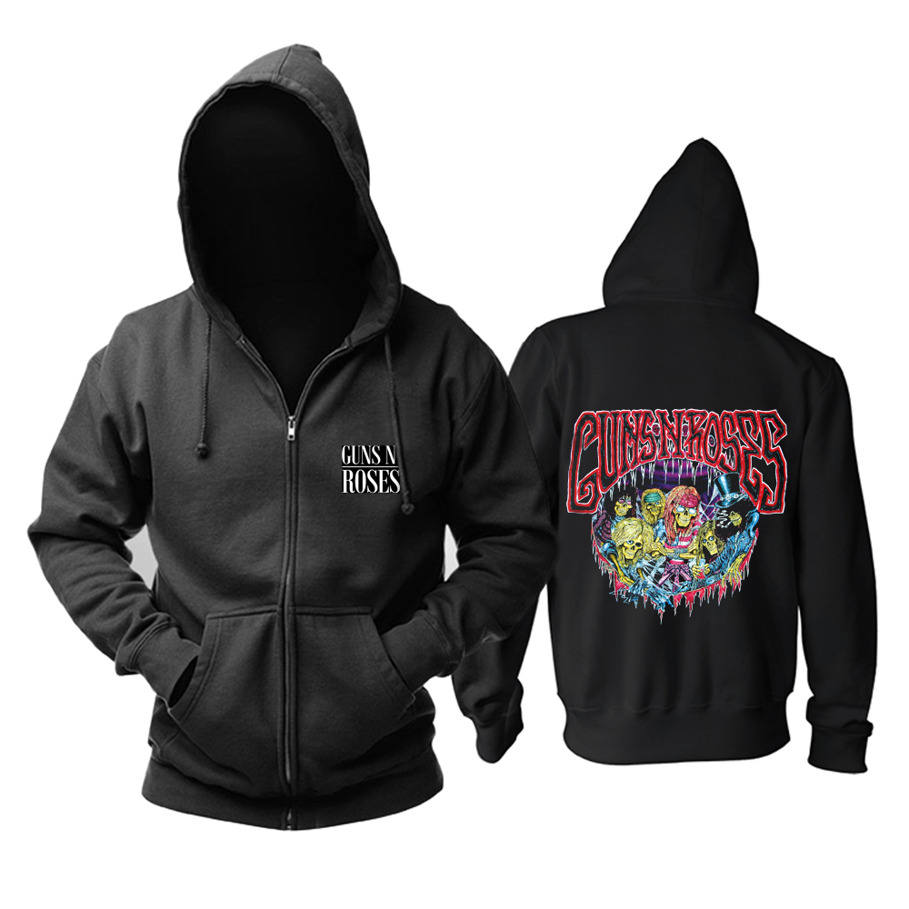 Collectibles Hoodie Guns N' Roses Hard Rock Pullover