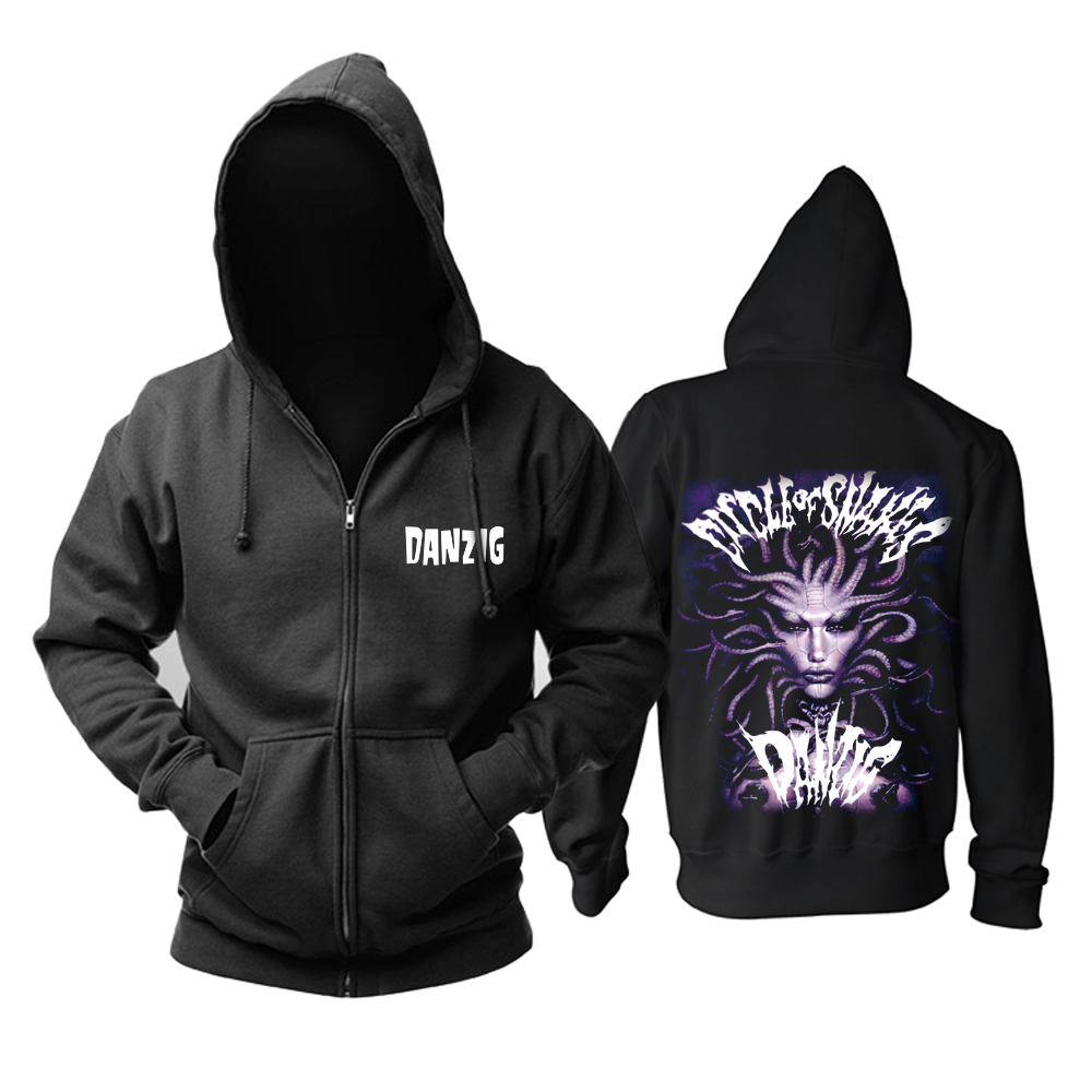 Collectibles Hoodie Danzig Circle Of Snakes Pullover