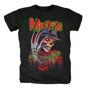 Merch T-Shirt Misfits Freddy Black