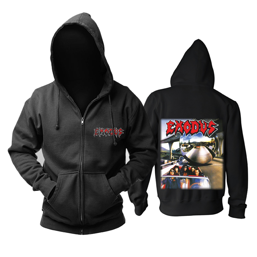 Merch Hoodie Exodus Impact Is Imminent Pullover