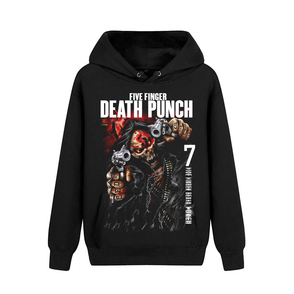 Merch Hoodie Five Finger Death Punch And Justice For None Deluxe Pullover