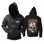 Collectibles Hoodie Slayer Pierced Skull Pullover