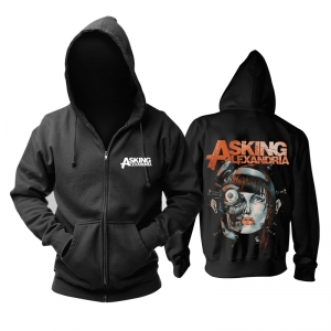 Merch Hoodie Asking Alexandria Face Constructor Pullover