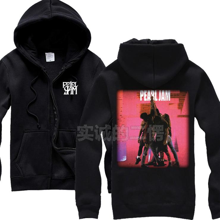 Merch Hoodie Pearl Jam Ten Rock Pullover