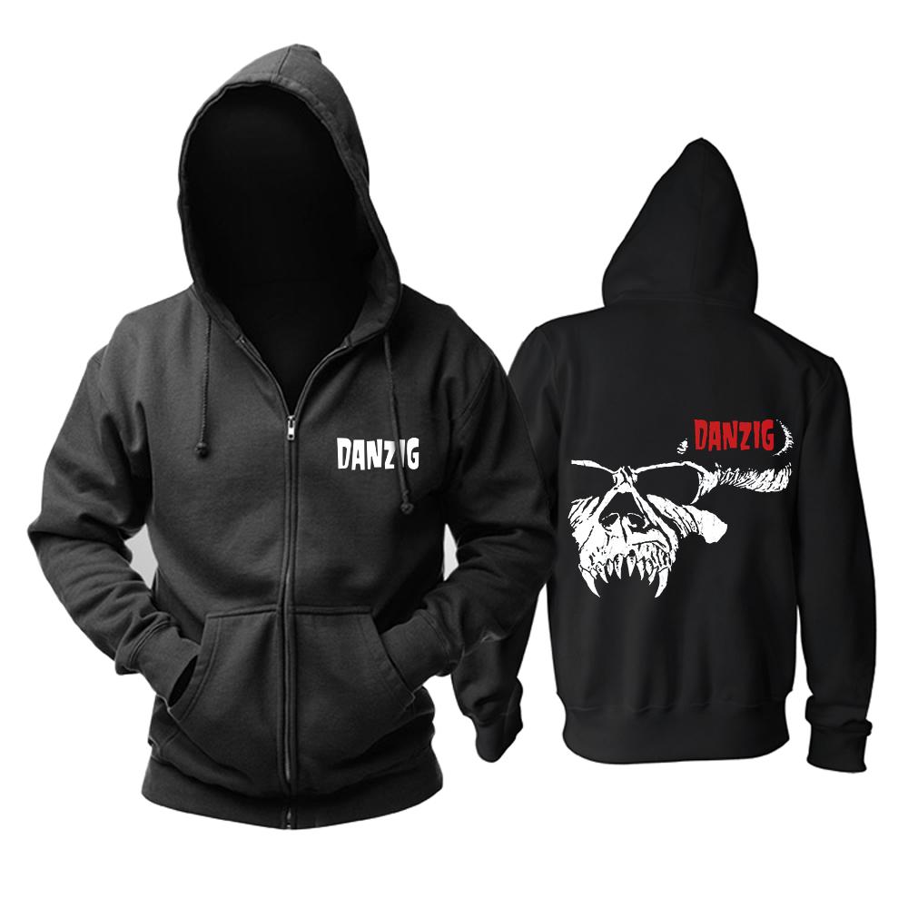 Merch Hoodie Danzig Band Logo Pullover