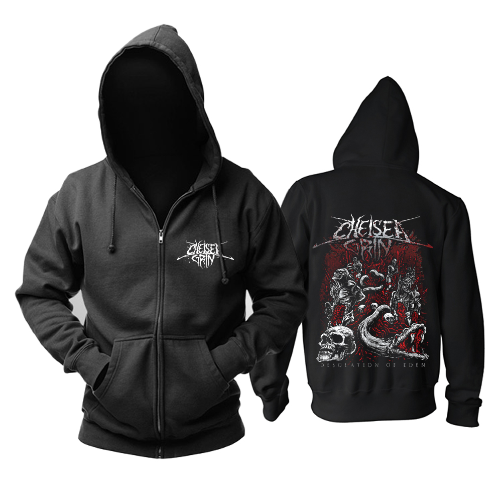 Collectibles Chelsea Grin Hoodie Desolation Of Eden Black Pullover