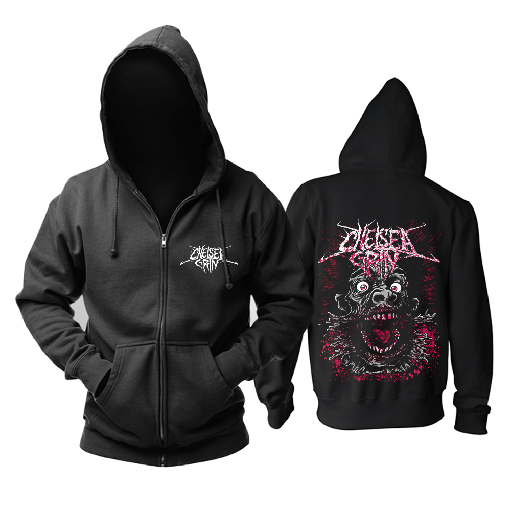 Collectibles Hoodie Chelsea Grin Blood Black Pullover
