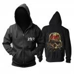 Merch Hoodie Slayer Metal Music Pullover