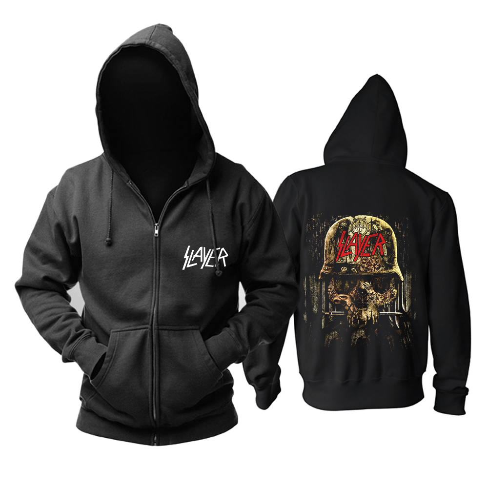 Collectibles Hoodie Slayer Metal Music Pullover