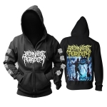 Merch Hoodie Abominable Putridity The Anomalies Of Artificial Origin Pullover