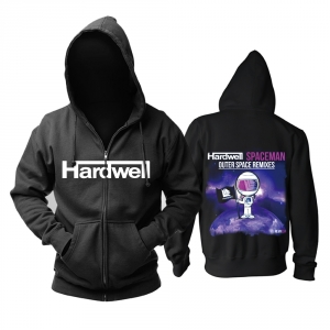 Collectibles - Hoodie Hardwell Spaceman Outer Space Remixes Pullover