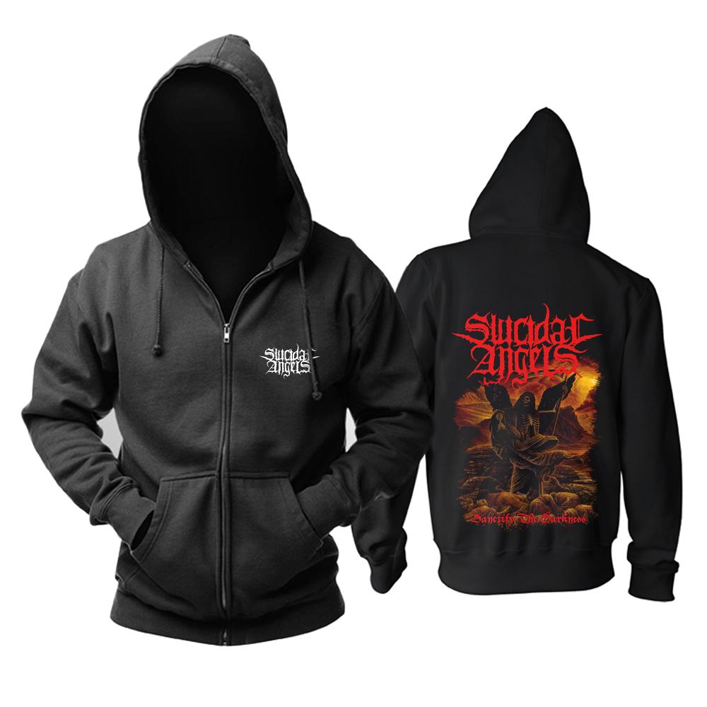 Merchandise Hoodie Suicidal Angels Sanctify The Darkness Pullover