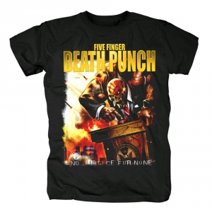 Collectibles - T-Shirt Five Finger Death Punch And Justice For None