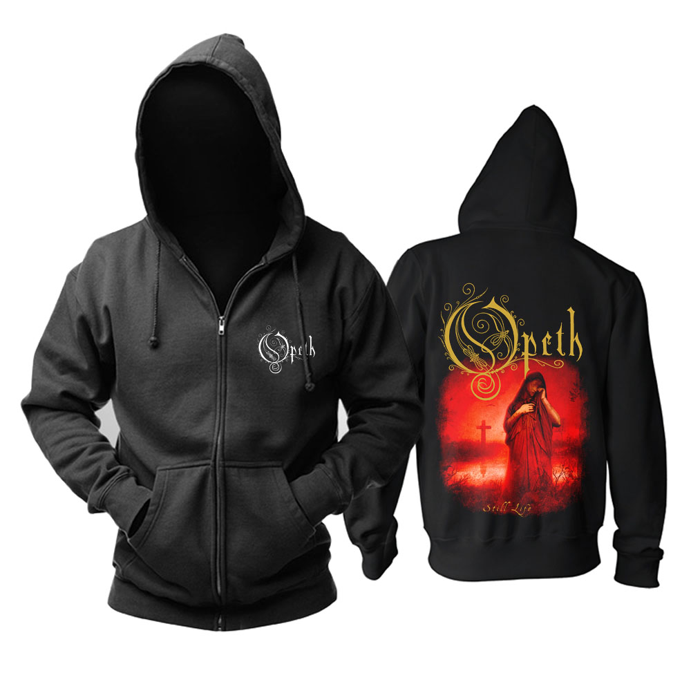 Merch Hoodie Opeth Still Life Metal Music Pullover