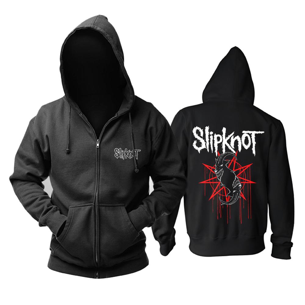 Merch Hoodie Slipknot Logo Pullover