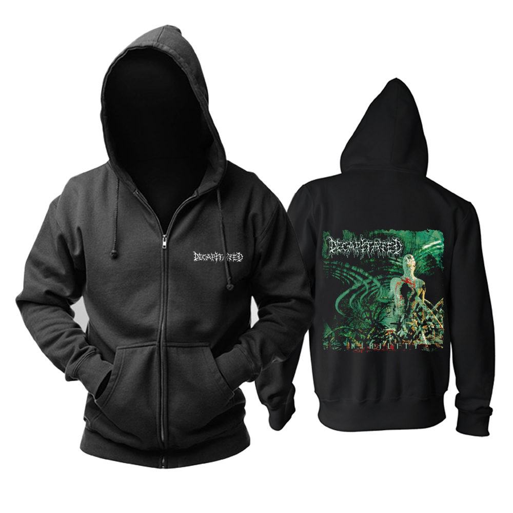 Merchandise Decapitated Hoodie Nihility Black Pullover