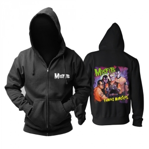 Merch Hoodie Misfits Famous Monsters Pullover