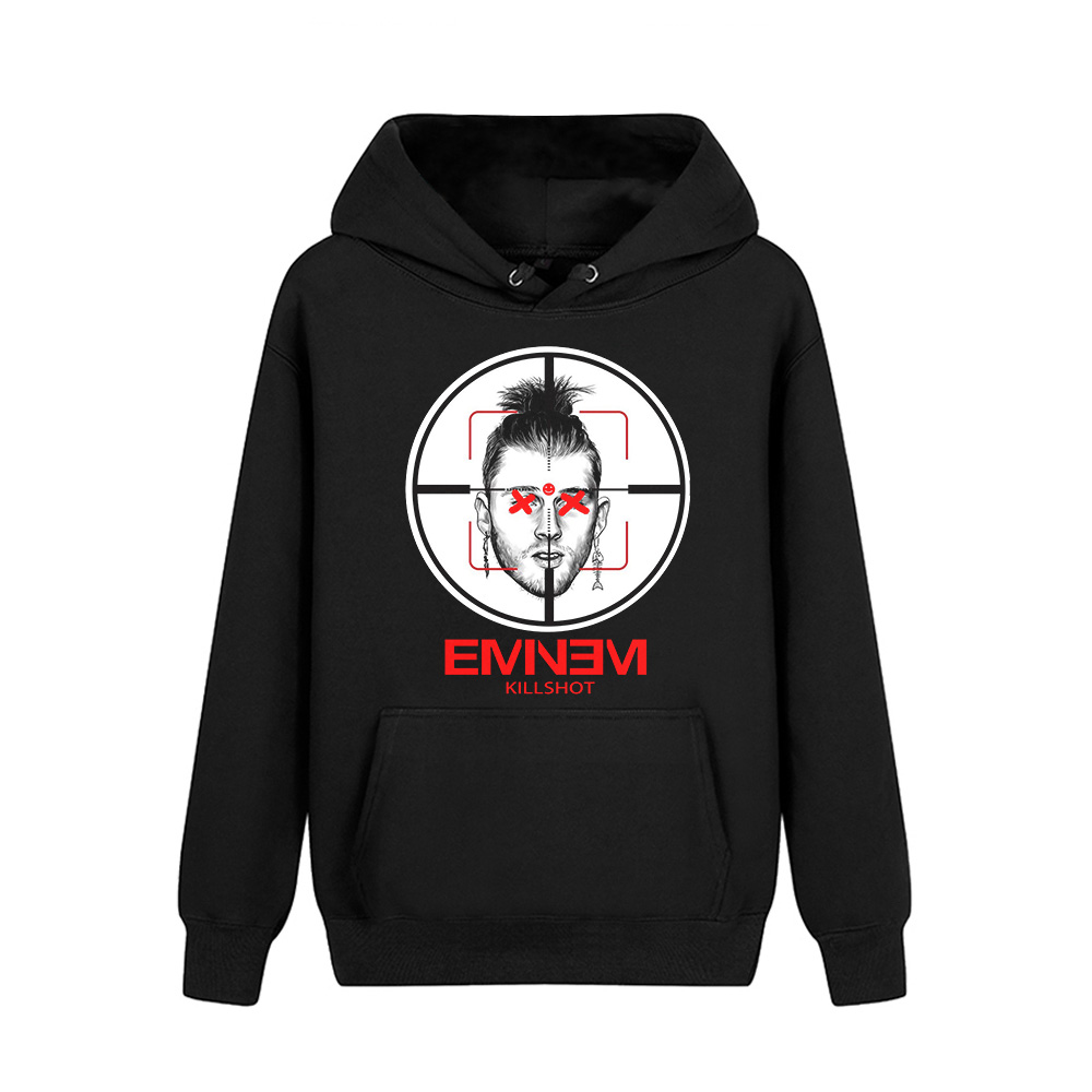 Merch Hoodie Eminem Killshot Black Pullover