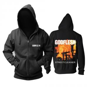 Merchandise Hoodie Godflesh Streetcleaner Black Pullover