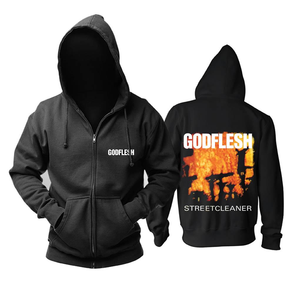 Merch Hoodie Godflesh Streetcleaner Black Pullover