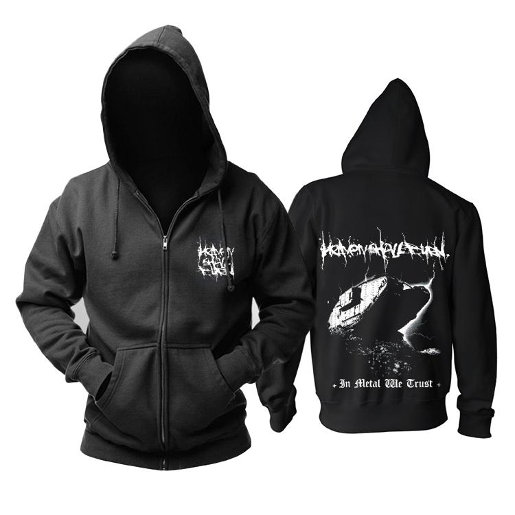 Merch Hoodie Heaven Shall Burn In Metal We Trust Pullover