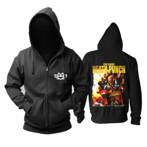 Collectibles - Hoodie Five Finger Death Punch And Justice For None