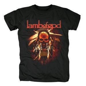 Merchandise T-Shirt Lamb Of God Gas Mask Skull