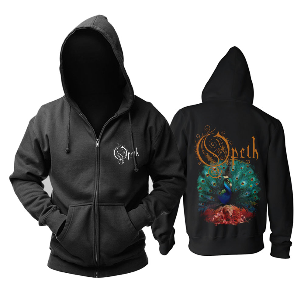 Collectibles Hoodie Opeth Sorceress Metal Music Pullover
