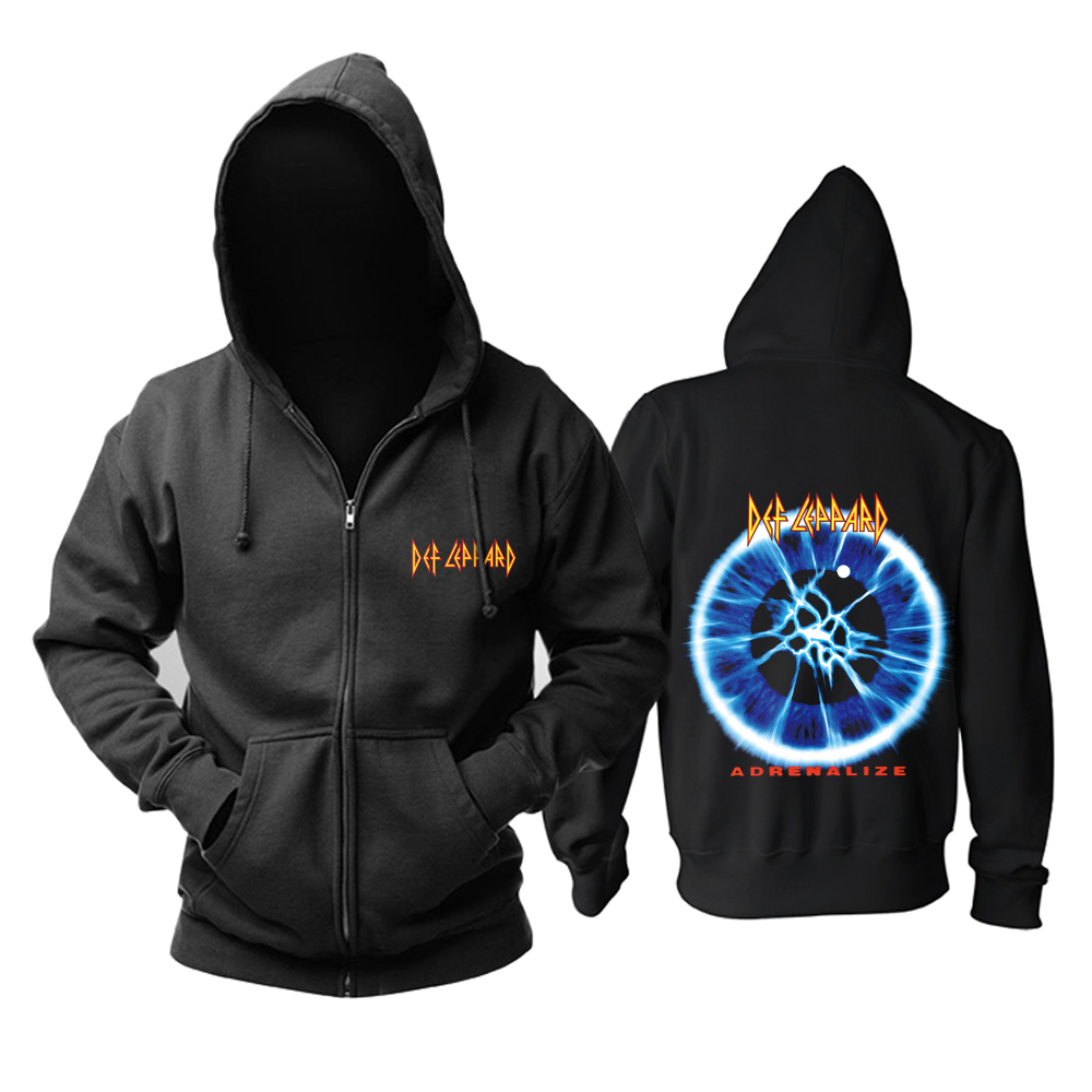 Merch Hoodie Def Leppard Adrenalize Pullover