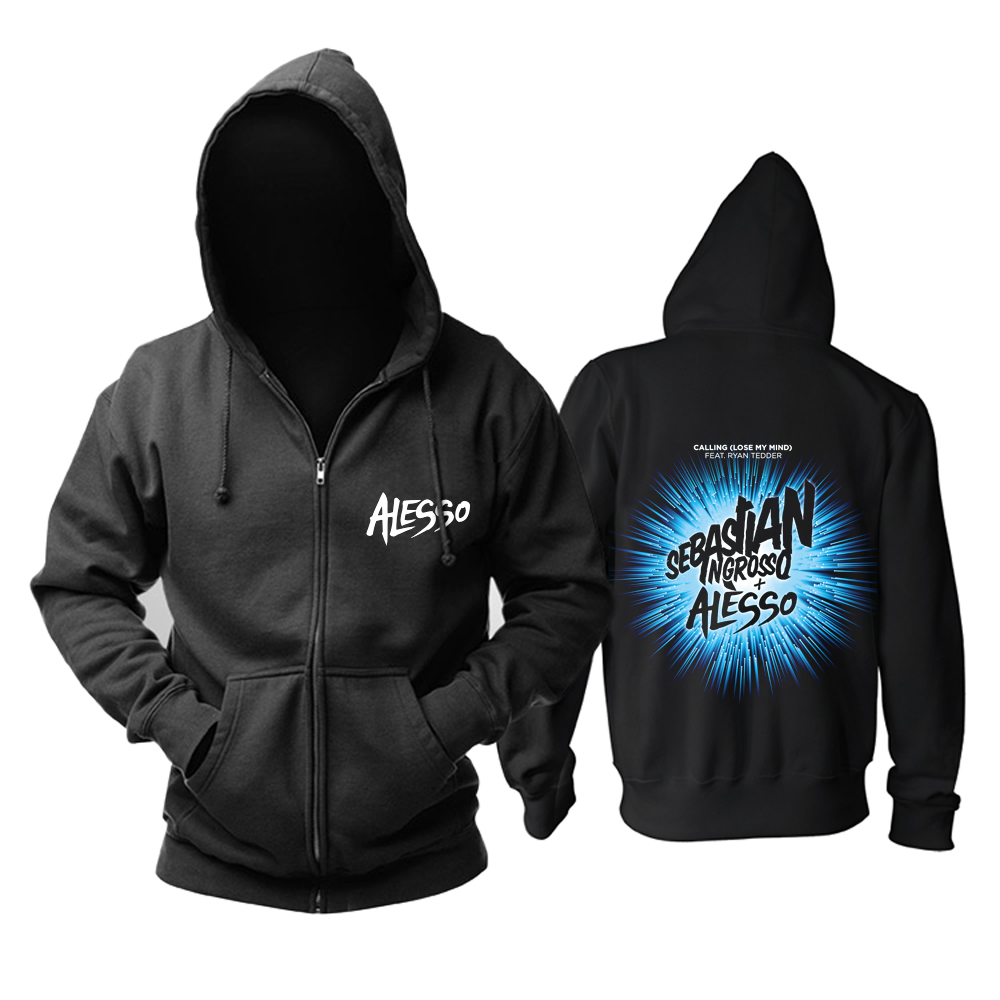 Collectibles Hoodie Dj Alesso Sebastian Ingrosso Pullover