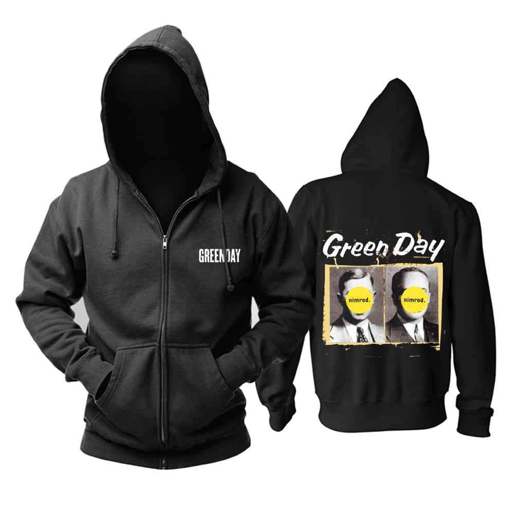 Merchandise Hoodie Green Day Nimrod Pullover