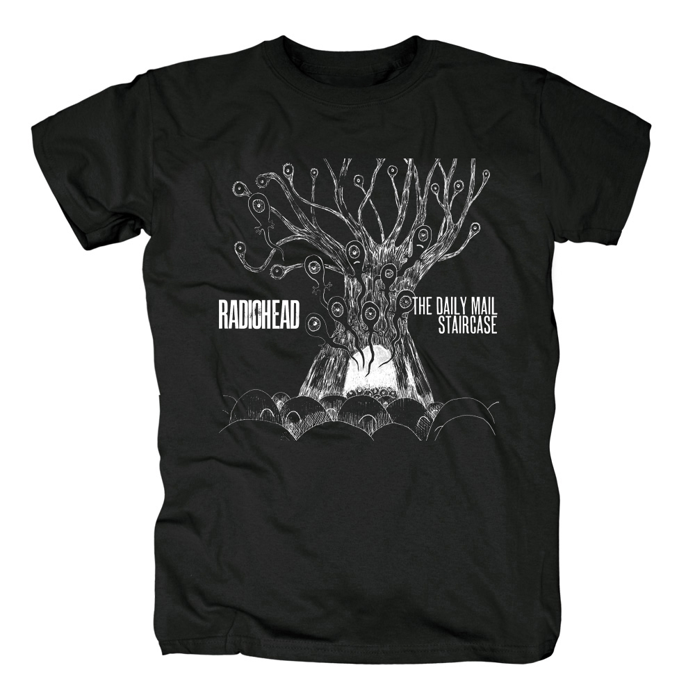 Collectibles T-Shirt Radiohead The Daily Mail