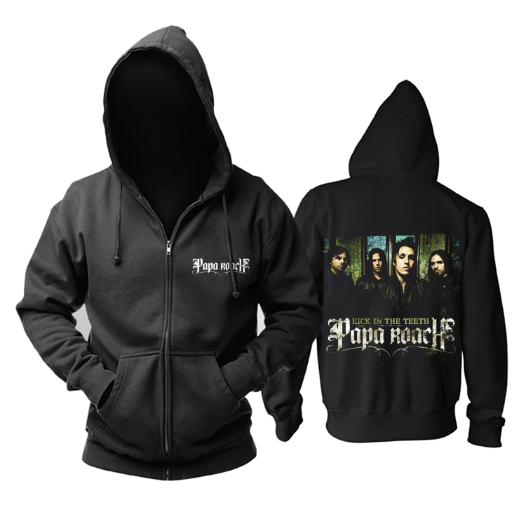Collectibles Hoodie Papa Roach Kick In The Teeth Pullover