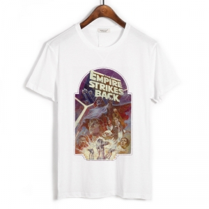 Collectibles T-Shirt Star Wars The Empire Strikes Back White