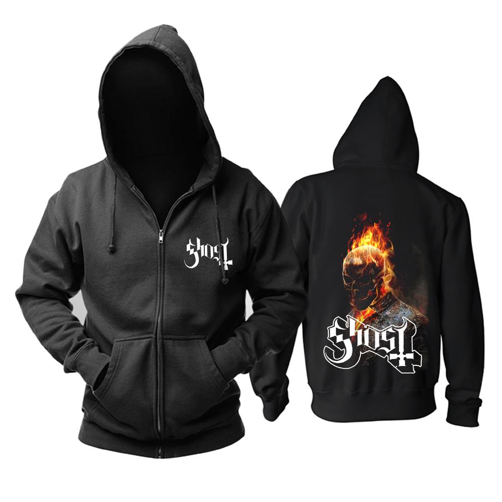 Merchandise Hoodie Ghost Heavy-Metal Music Pullover