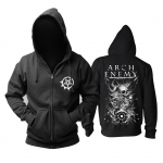 Collectibles Hoodie Arch Enemy Skulls Black Pullover