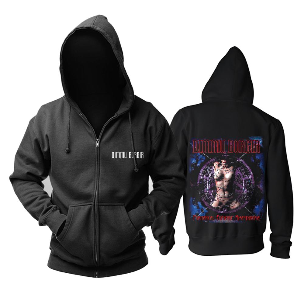 Merchandise Hoodie Dimmu Borgir Puritanical Euphoric Misanthropia Pullover