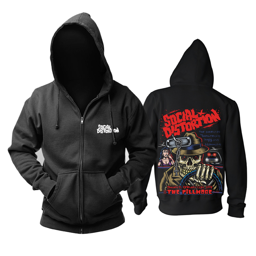 Merchandise Hoodie Social Distortion The Fillmore Pullover