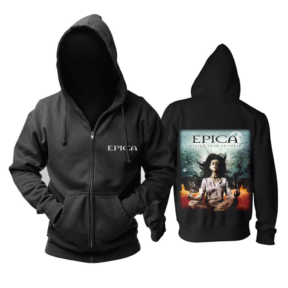 Merchandise Hoodie Epica Design Your Universe Pullover