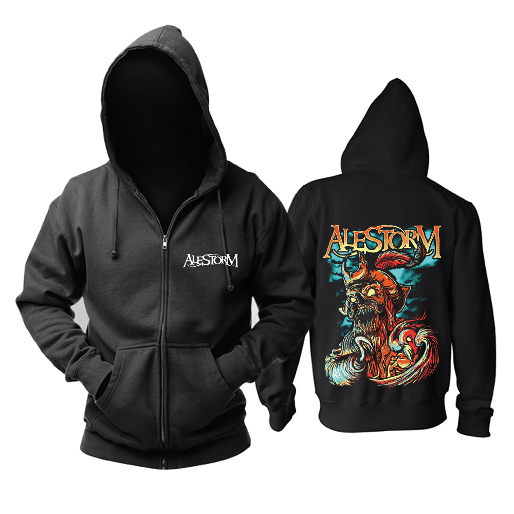 Merchandise Hoodie Alestorm Get Drunk Or Die Pullover