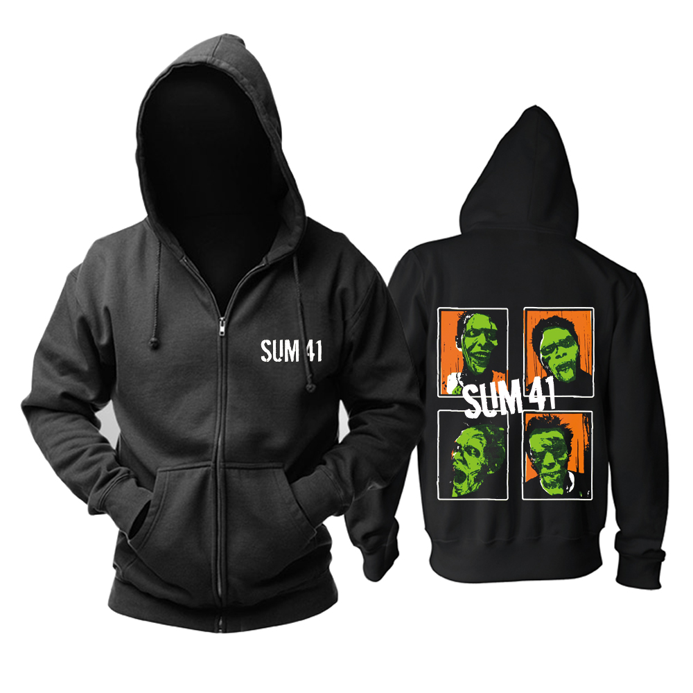 Collectibles Hoodie Sum 41 Punk Rock Pullover