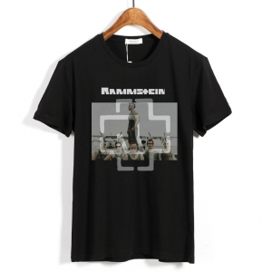 Merch Rock Band T-Shirt Rammstein Apparel