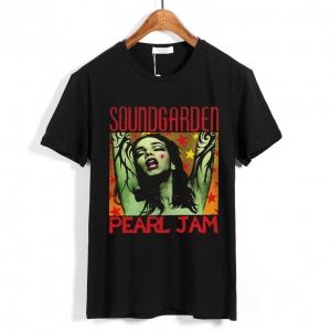 Collectibles T-Shirt Soundgarden Pearl Jam