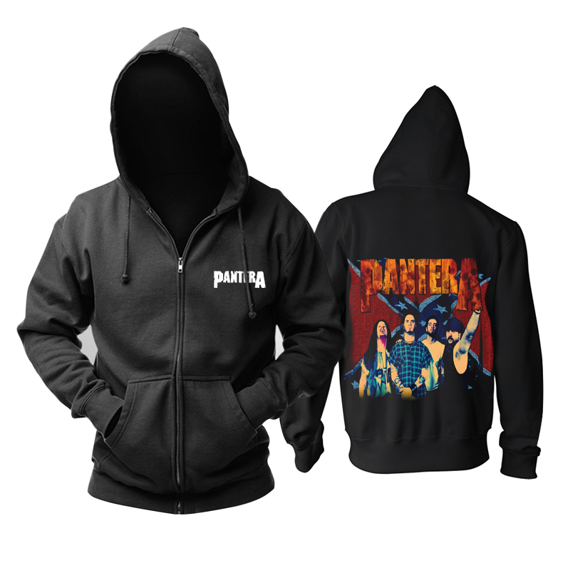 Collectibles Pantera Band Hoodie Groove Metal Pullover
