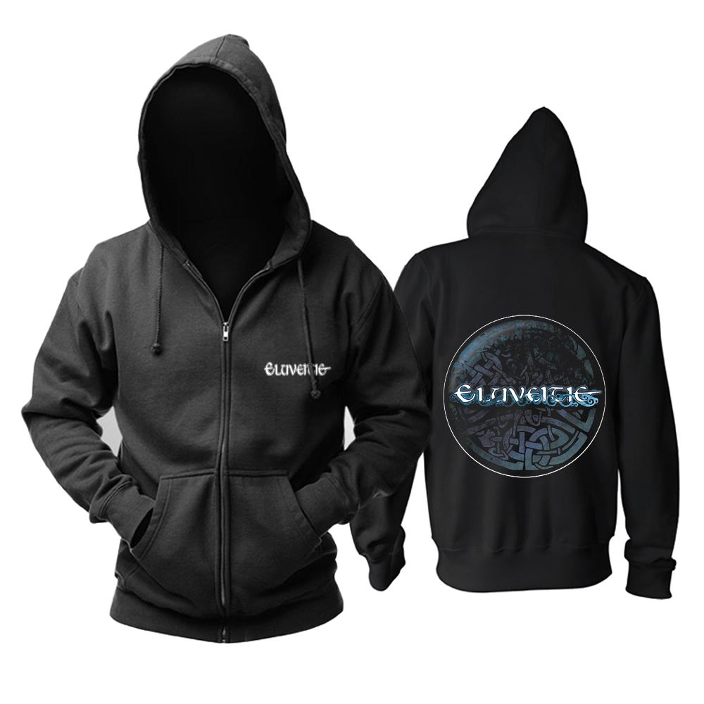 Merch Hoodie Eluveitie Logo Black Pullover